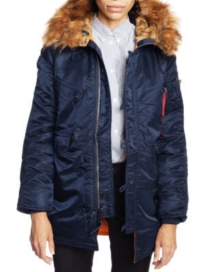Alpha Industries N3B VF 59 Wmn Replica Blue