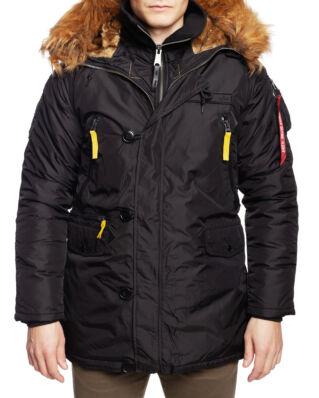 Alpha Industries PPS N3B Down jacket Black