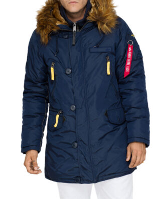 Alpha Industries PPS N3B Down jacket replica blue