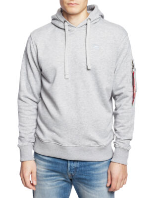 Alpha Industries X-Fit Hoody Grey Heather/Grey