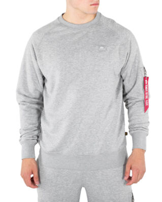 Alpha Industries X-Fit Sweatshirt Grey Heather