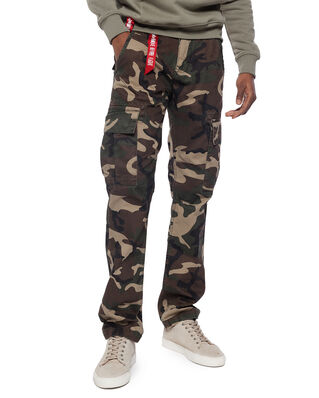 Alpha Industries Agent C Woodland Camo