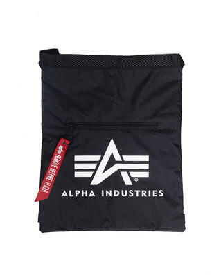 Alpha Industries Alpha Gym Bag Black