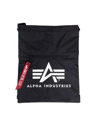 Alpha Industries Alpha Gym Bag Black