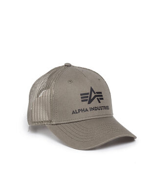 Alpha Industries Basic Trucker Cap Dark Green