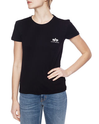 Alpha Industries Basic T Small Logo Wmn Black