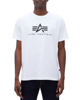 Alpha Industries Basic T White