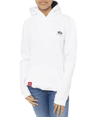 Alpha Industries Junior Basic Hoody Small Logo Kids/Teens White