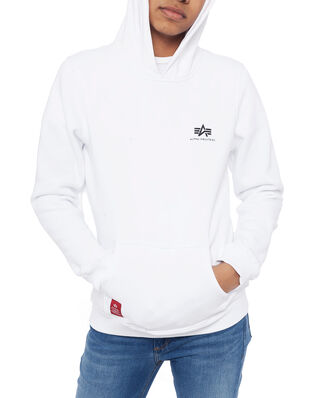 Alpha Industries Junior Basic Hoody Small Logo Kids/Teens White