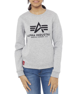 Alpha Industries Junior Basic Sweater Kids/Teens Grey Heather