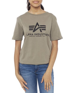 Alpha Industries Junior Basic T Kids/Teens Olive