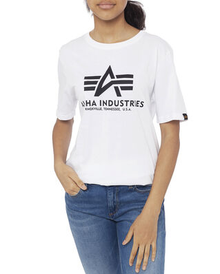 Alpha Industries Junior Basic T Kids/Teens White