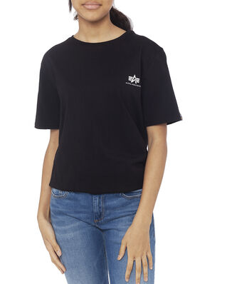 Alpha Industries Junior Basic T Small Logo Kids/Teens Black