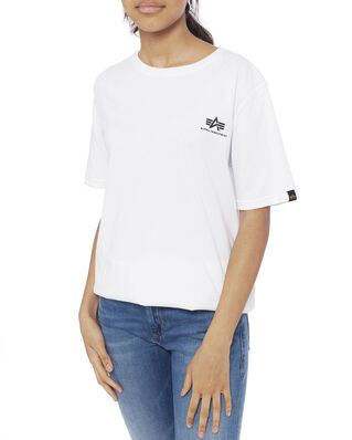 Alpha Industries Junior Basic T Small Logo Kids/Teens White