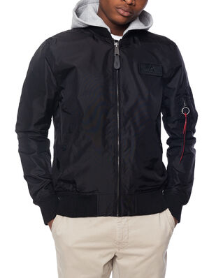 Alpha Industries MA-1 TT Hood Black