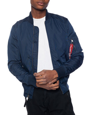 Alpha Industries MA-1 TT bomber jacket repl blue