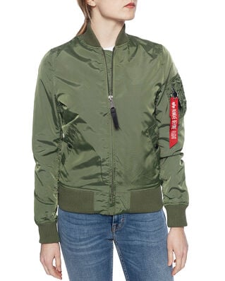 Alpha Industries MA-1 TT WMN sage green
