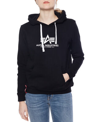 Alpha Industries New Basic Hoody Wmn Black
