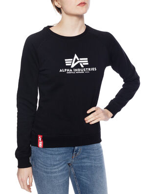 Alpha Industries New Basic Sweater Wmn Black