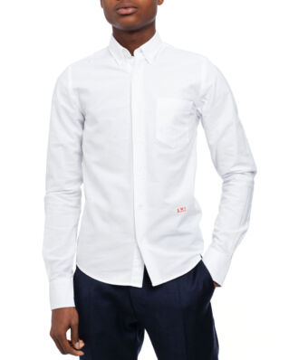 AMI C004 Ami Embroidered Shirt White