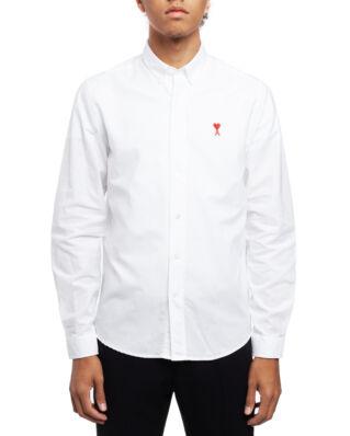 AMI C013 Ami De Coeur Shirt White