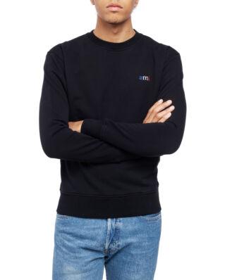 AMI J003 Sweatshirt With Ami Embroidery Black