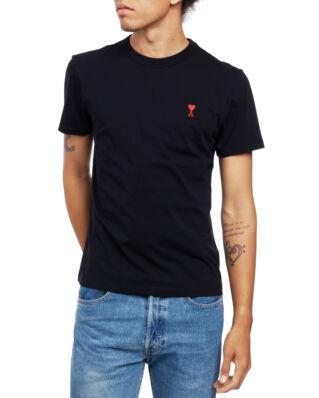 AMI J108 Ami De Coeur T-shirt Black