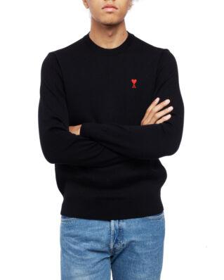 AMI K001 Ami De Coeur Crewneck Sweater Black