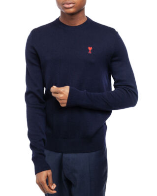 AMI K001 Ami De Coeur Crewneck Sweater Navy