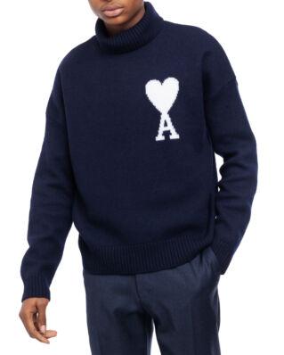 AMI K203 Ami De Coeur Oversize Sweater Navy