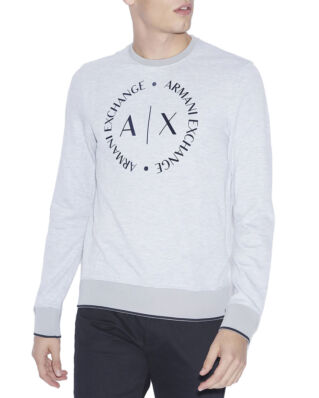 Armani Exchange Sweatshirt With Logo Grey