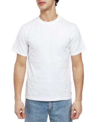 Armor Lux Plain Crew Neck Boxy Ss Tee Shirt White