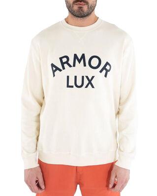 Armor Lux Sweat Sérigraphié Héritage Faux Indigo Bleu