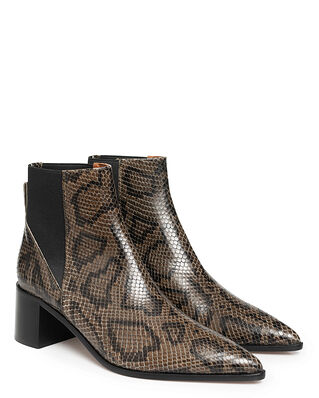ATP Atelier Donaci Dark Green Printed Snake Dark Green