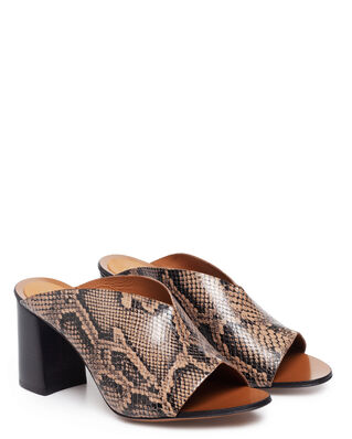 ATP Atelier Licola Brown Printed Snake Brown