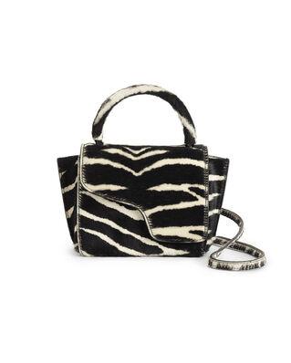 ATP Atelier Montalcino Black Printed Zebra Pony Black