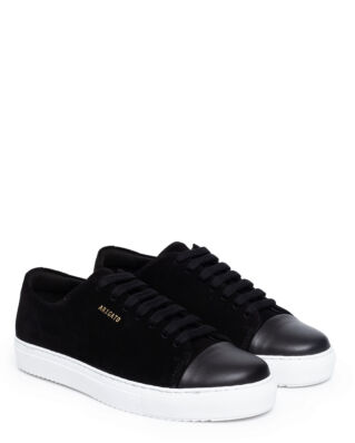 Axel Arigato Cap-toe Black Suede Leather