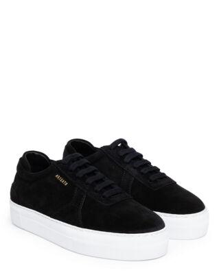Axel Arigato Platform Black Suede Leather