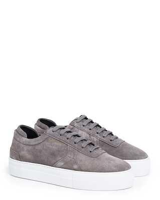 Axel Arigato Platform Grey Suede Leather