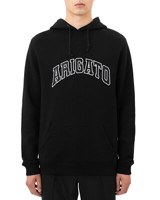 Axel Arigato College Logo Hoodie Black