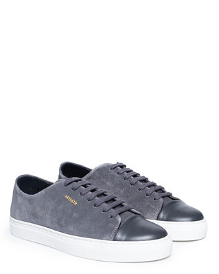 Axel Arigato Cap-toe Dark Grey Suede Leather