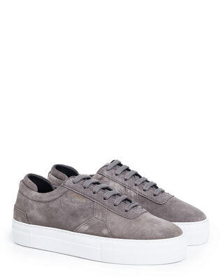 Axel Arigato Platform Grey Suede Leather