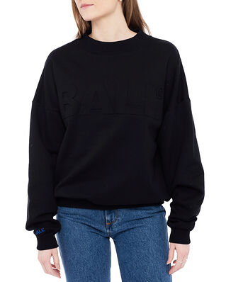 Ball Ball Wham Crew Neck Sweat Black