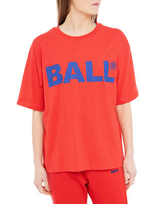 Ball Ball Chp Tee Bright Red