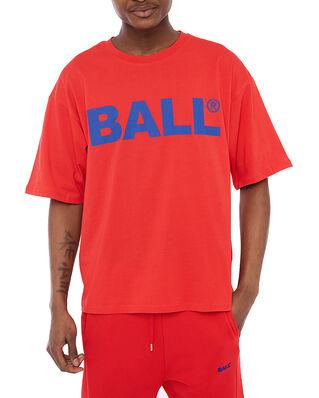 Ball Ball Chp Tee Bright Red