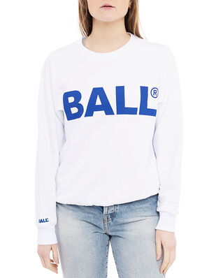 Ball Ball Cph Crew Neck Sweat Optical White