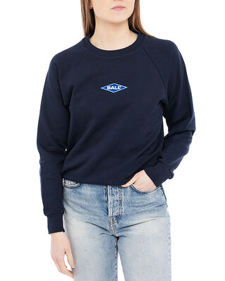 Ball Ball Raglan Crew Neck Sweat Navy