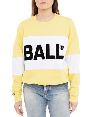 Ball Ball Summer Crew Neck Sweat Sunlight Yellow