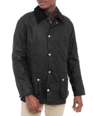 Barbour Ashby Wax Jacket Dk Olive