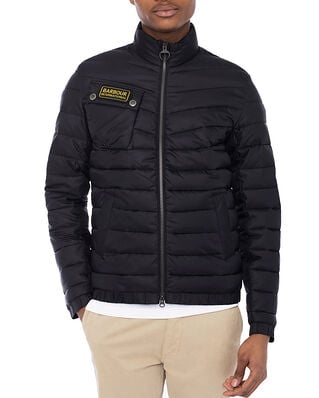 Barbour B. INTL.  Chain Baffel Quilt Black